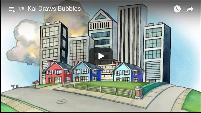 Kal Draws Bubbles animation