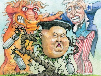 US, China, & North Korea