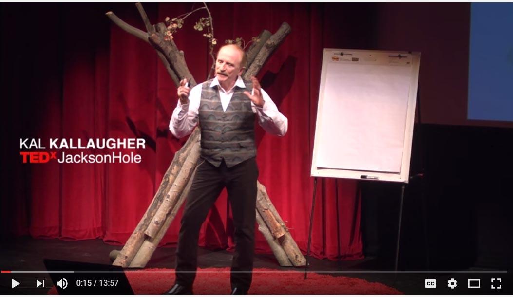 Kal speaking at TEDx