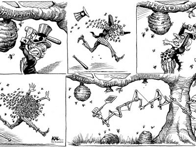 Middle East Hornet's Nest