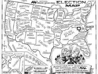 Kal Election Map