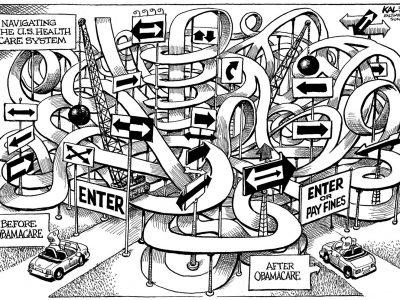 Obamacare Maze