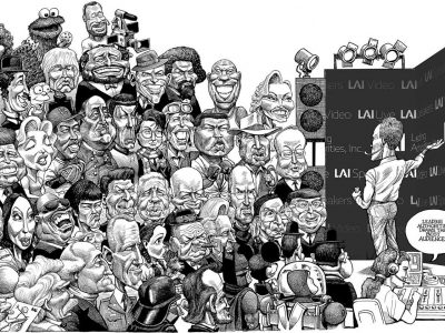 Leading Authorities Mural