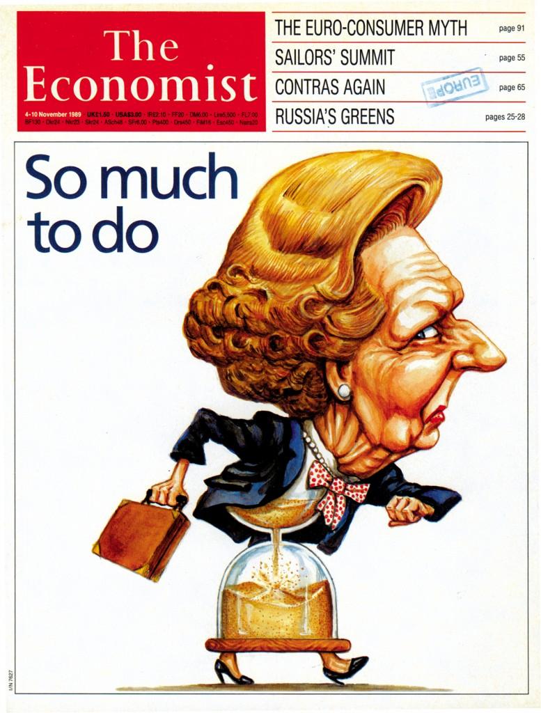 Margaret Thatcher - Economist Cover