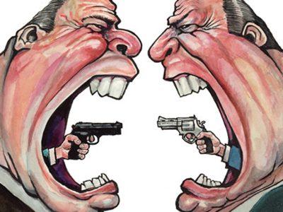 Guns In America , Economist Cover