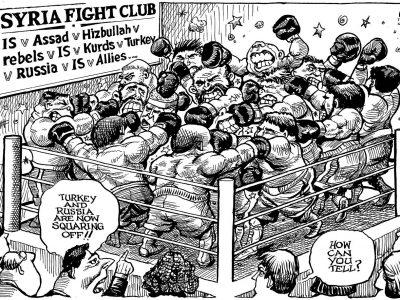 Syria Fight Club
