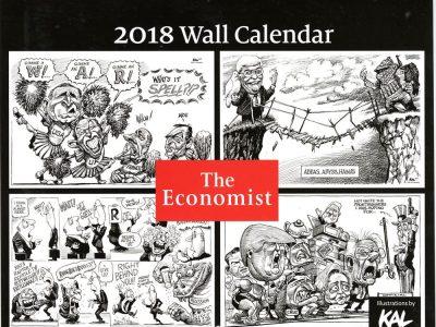 Kal wall calendar 2018