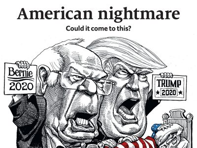 Economist cover American Nightmare