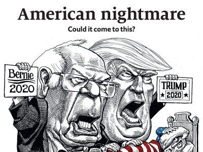 Economist cover American Nightmare