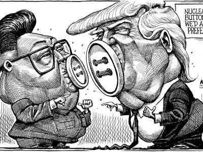 Whose button is bigger? The Economist 1-6-18