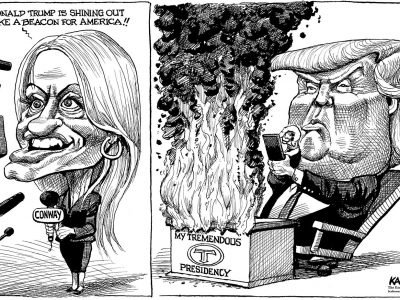 Kellyanne and Donald