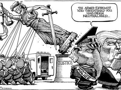 Neutralized threat
