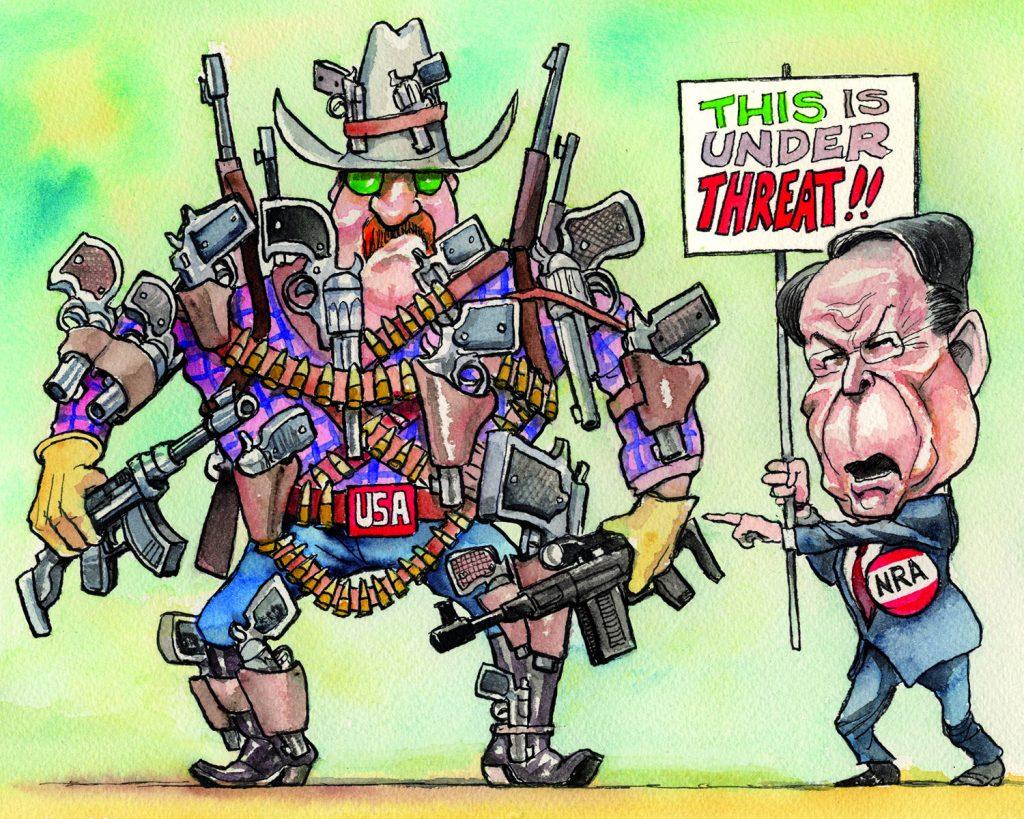 NRA guns