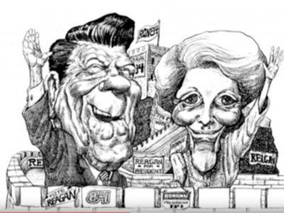 Kal on drawing Reagan