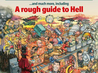 Economist cover, December 22, 2012
