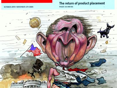 Cover for The EconomistOctober 29, 2005