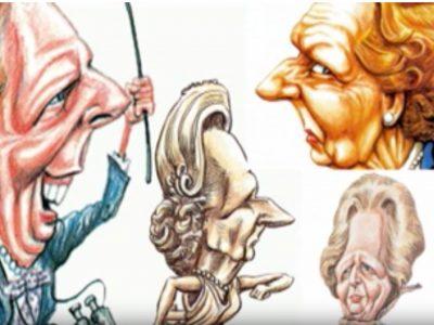 Kal on Drawing Margaret Thatcher